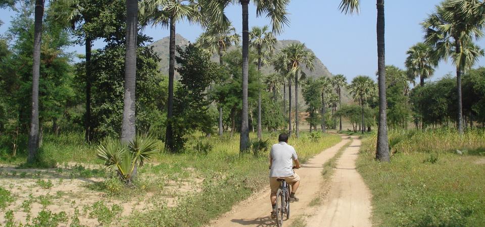Radtour in Myanmar