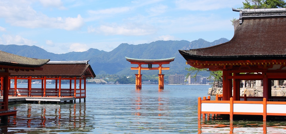 Hiroshima Schrein Miyajima