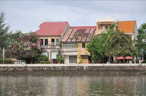 Kampot Kolonialgebäude Kambodscha