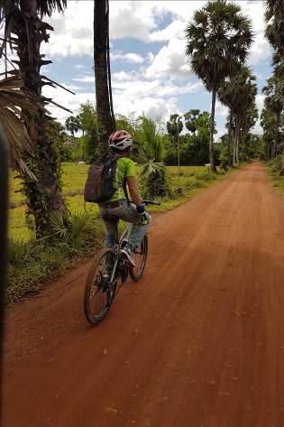 Kampot Kambodscha Fahrradtour