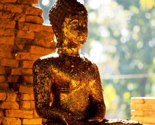 Eine Buddha Statue in Thailand