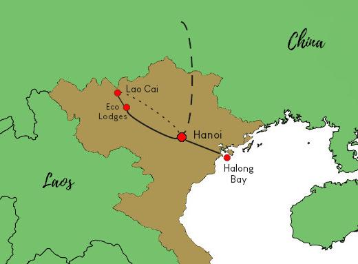 Vietnams Norden intensiv - Rundreise