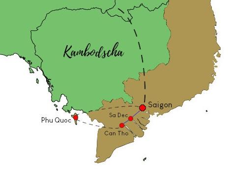 Fruchtbares Mekong Delta und tropische Strände - Vietnams Süden Rundreise
