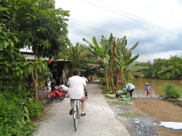Fahrradtour im Mekong Delta Vietnam