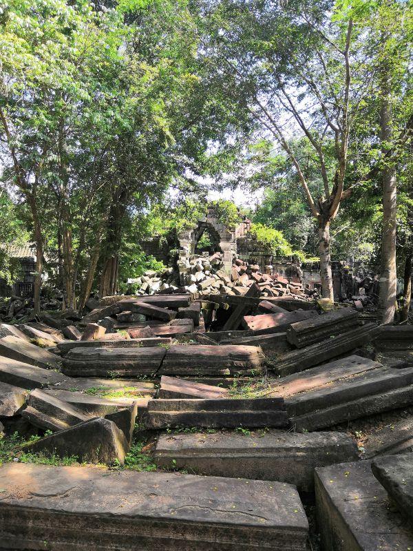 Tempelanlage bei Angkor Wat Kambodscha