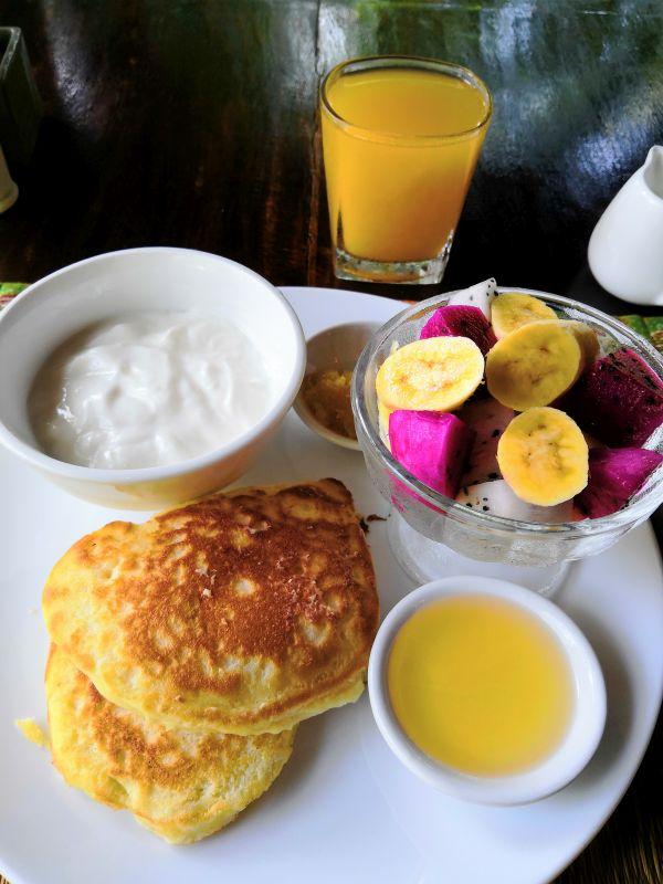 Frühstück in Kambodscha