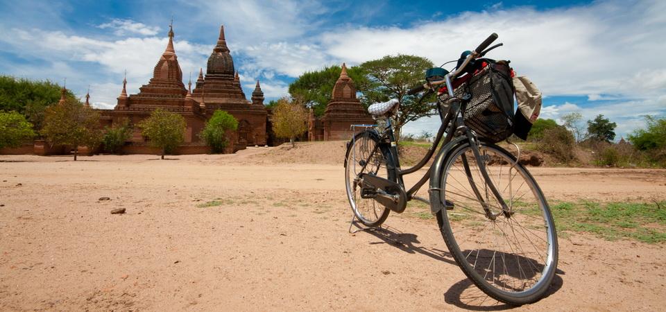 Fahraddtour in Bagan