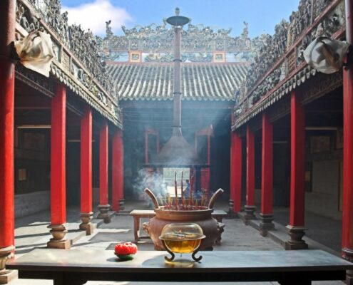 Alter Tempel in Vietnam