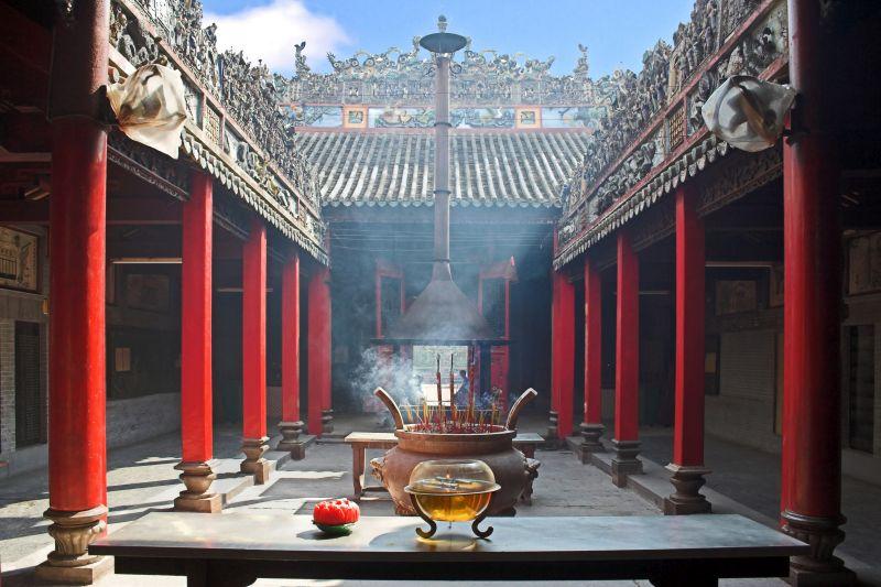 Alter Tempel in Vietnam