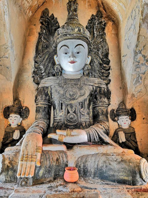 Buddha Statue Pagode Tempel Inle See
