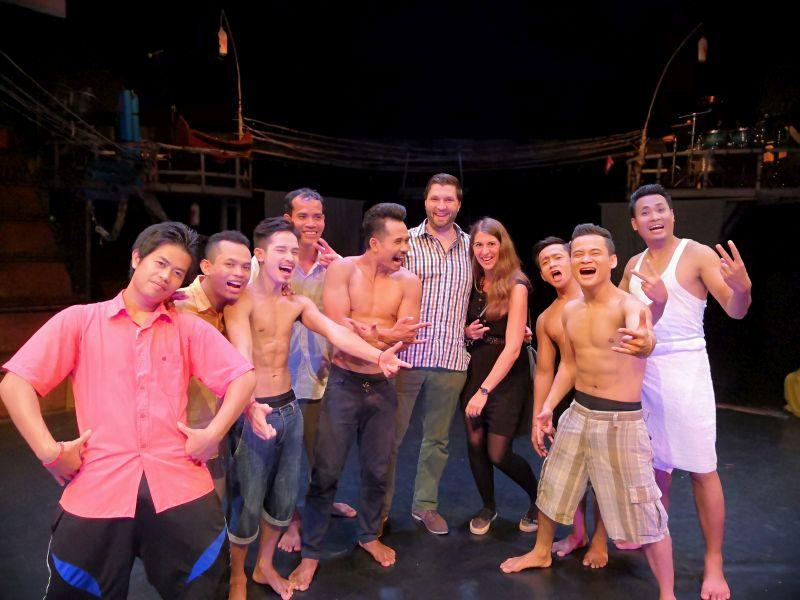 Phare Ponleu Selpac Artistenzirkus Kambodscha