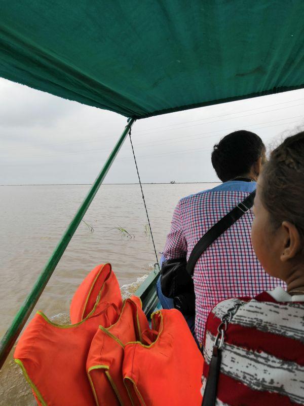 Bootsfahrt auf dem Tonle Sap See Kambodscha