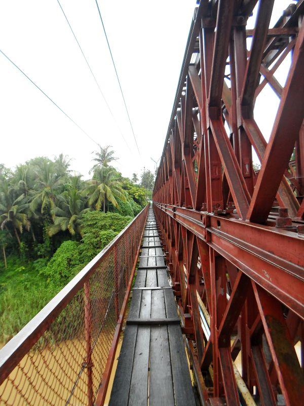 Laos Norden Brücke
