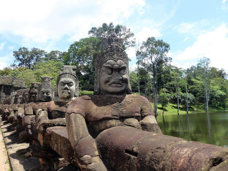 Angkor Wat Bayon Kambodscha Tempel