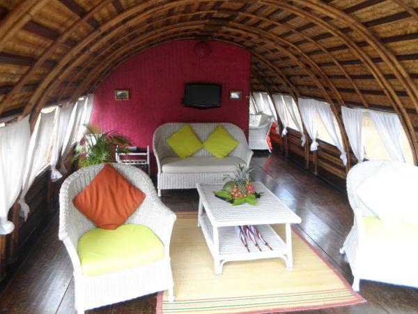 Sampan (Reisbarke/Hausboot) Mekong Delta Vietnam