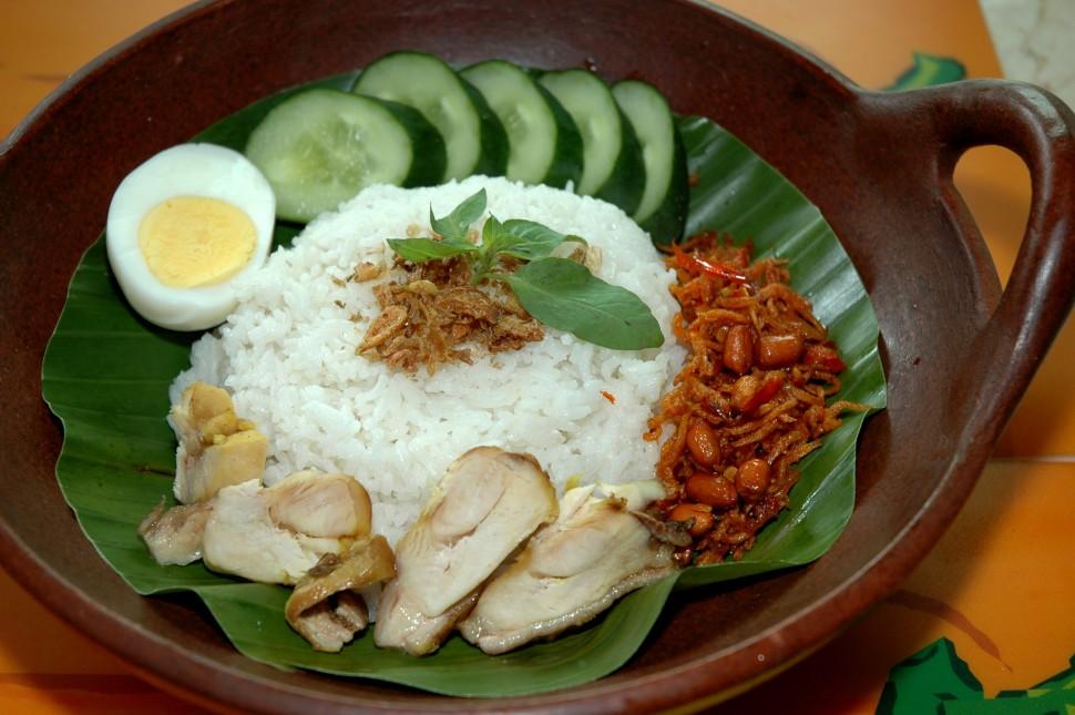 eine traditionelle asiatische Speise