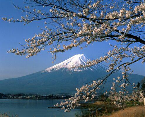 Ein Blick auf den Fuji Yama san