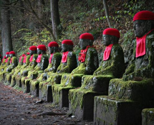 mystische Figuren in Japan