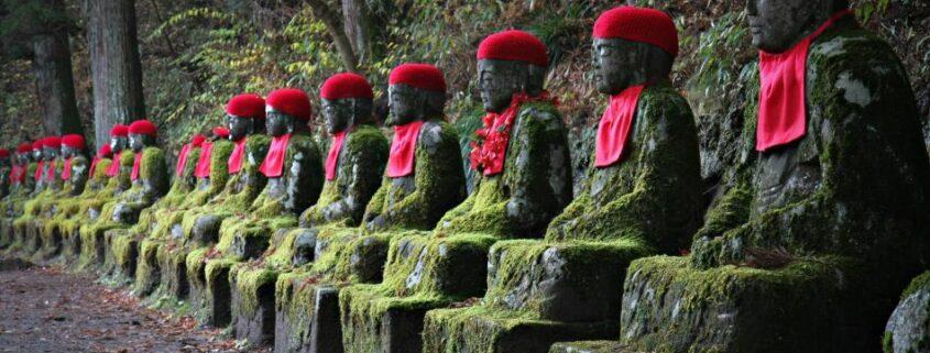 mystische Figuren in Japan