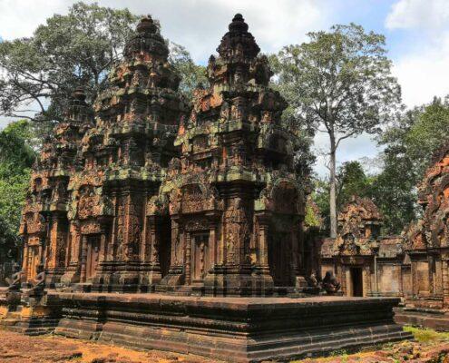 Kambodscha, Siem Reap, Banteay Srei, Angkor Wat