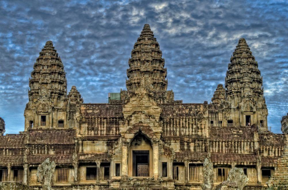 Angkor Wat von aussen