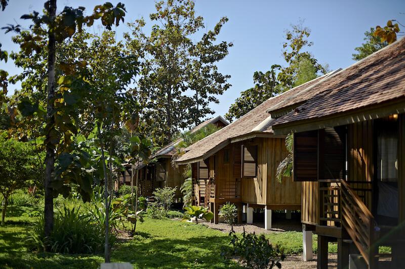 La Folie Lodge von aussen