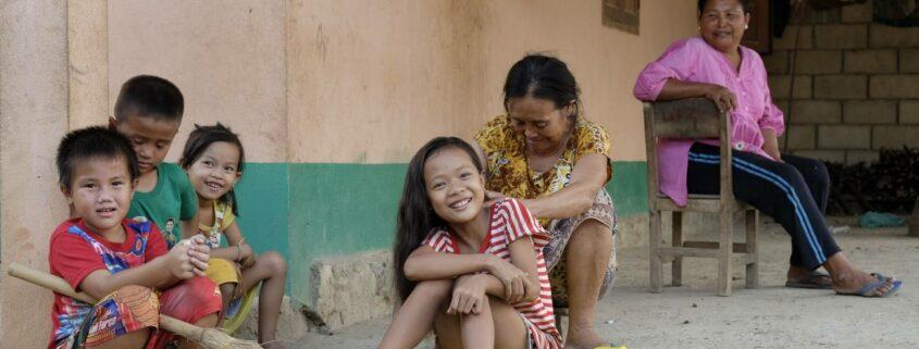 Familienspaß in Laos