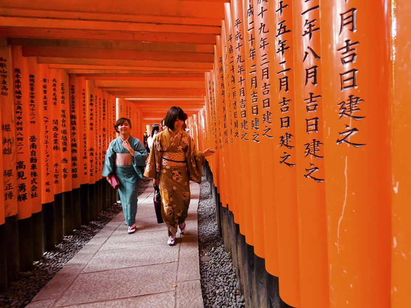 Fushimi Inari Schrein Kyoto