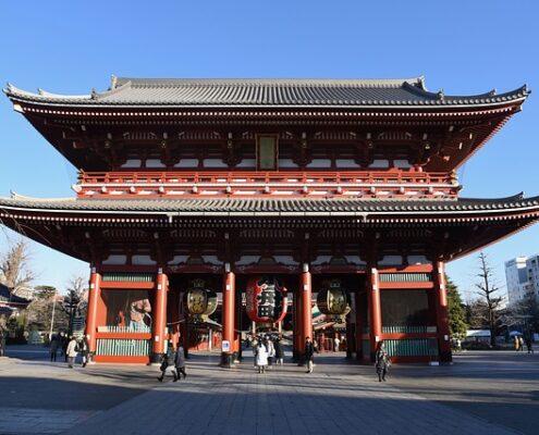 Asakusa Tokio Japan Sensoji Tempel