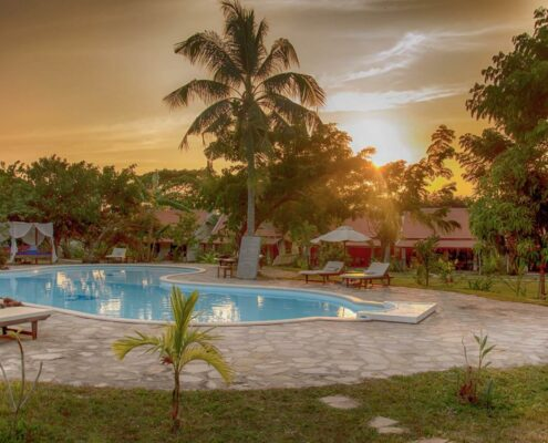 Kep, Le Flamboyant Resort, Pool