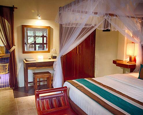 Kep, Le Flamboyant Resort, Zimmer
