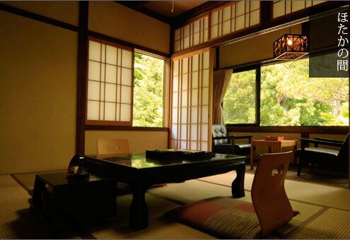Ryokan Komanoyu Kiso-Fukushima Zimmer japanischer Stil