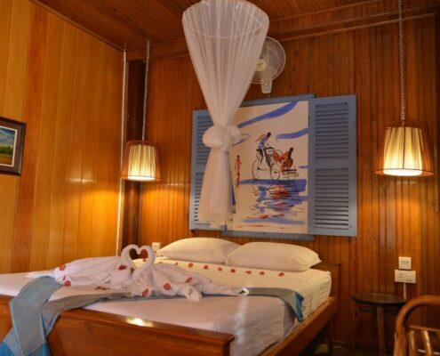 Kratie_Le Tonle Guesthouse_Zimmer