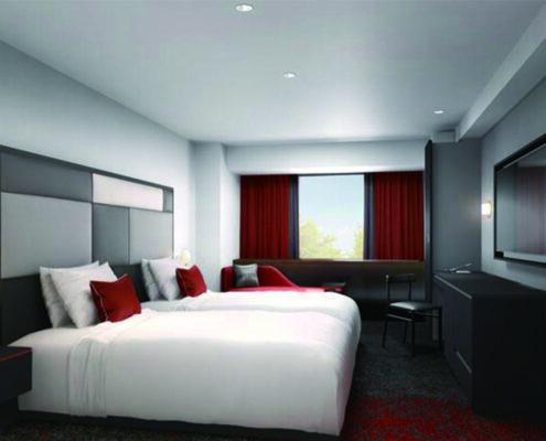 Cross Hotel Osaka Zimmer