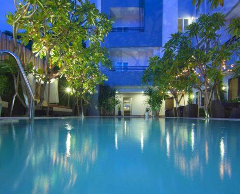 Phnom Penh - ANIK Boutique Hotel Pool