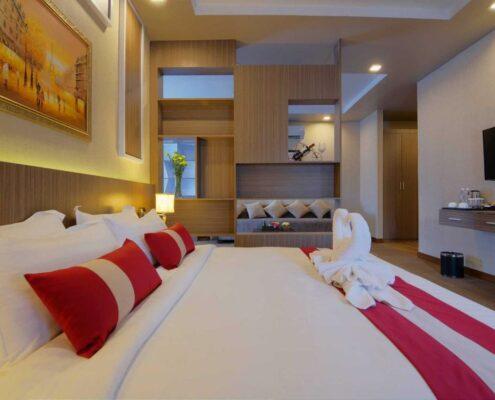 Phnom Penh - ANIK Boutique Hotel Zimmer