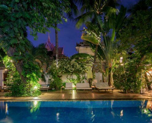 Phnom Penh - Villa Langka Pool
