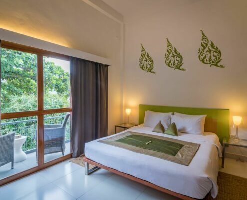 Phnom Penh - Villa Langka Zimmer