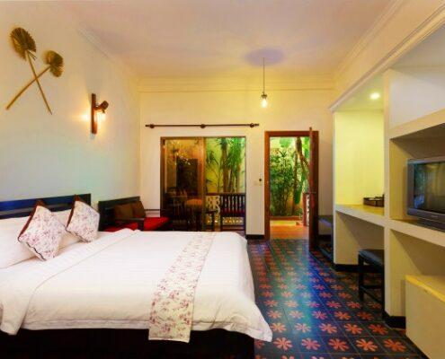 Siem Reap - La Niche D'Angkor Zimmer