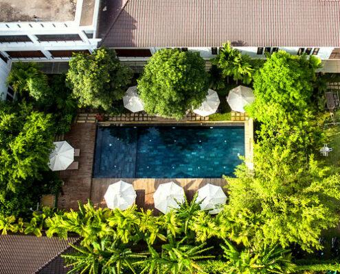 Siem Reap - La Residence Blanc D'Angkor Pool