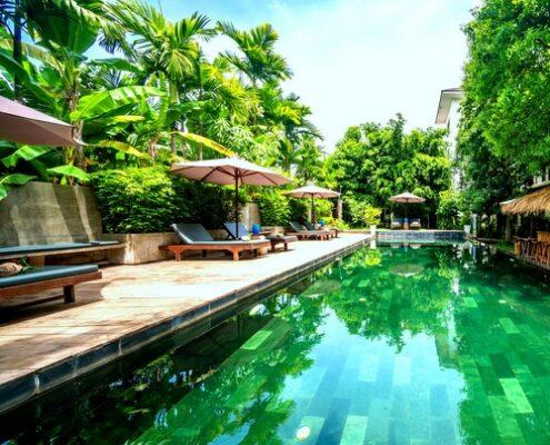 Siem Reap - La Residence Blanc D'Angkor