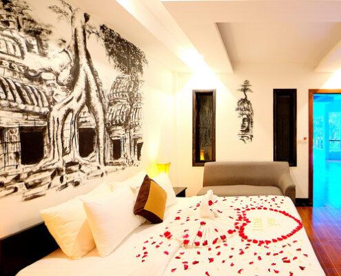 Siem Reap - La Residence Blanc D'Angkor Zimmer