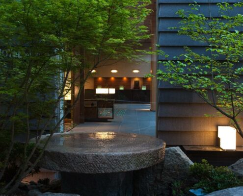 Niwa Boutique Hotel Tokio Japan Garten