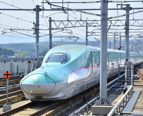 Shinkansen Schnellzug in Japan