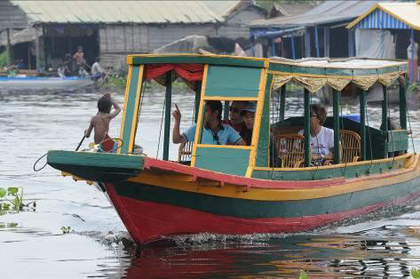 Bootstour Tonle Sap See_Siem Reap