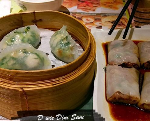 Dim Sum, Dumplings, Teigtaschen