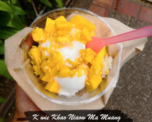 Sticky Rice mit Mango Thailändisches Dessert Rezept