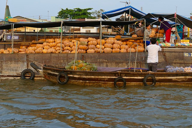 Can Tho Cai Rang schwimmender Markt