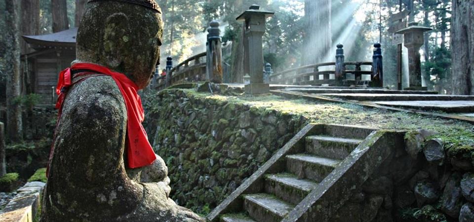 Steingarten am Koyasan Japan